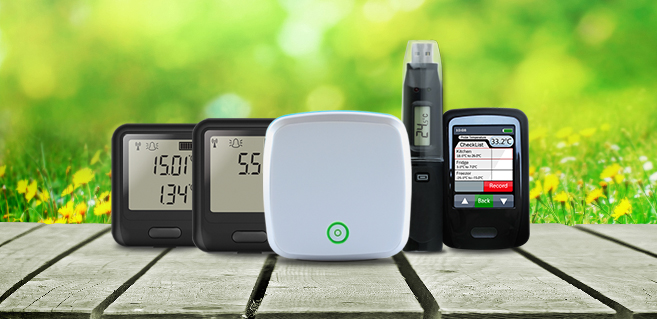 Our range of environmental data loggers.