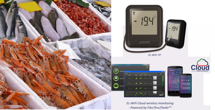 Temperature Monitoring at Venture Seafoods