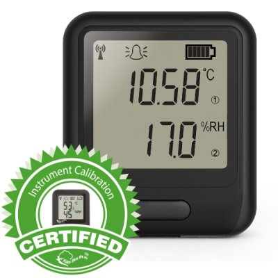 EL-WiFi-TH+ Cal'd Temp. & Humidity Data Logger