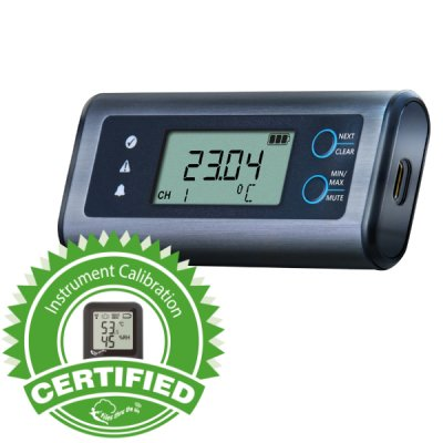 EL-SIE-1+ Calibrated High Accuracy Temp. USB Data Logger