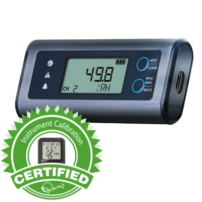 EL-SIE-2+ Calibrated High Acc. Temp. & RH USB Data Logger