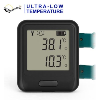 EL-WiFi-DULT+ High-Accuracy Ultra-Low-Temperature Data Logger