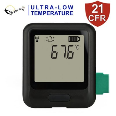 EL-WiFi-21CFR-ULT+ High-Accuracy Ultra-Low-Temperature Data Logger
