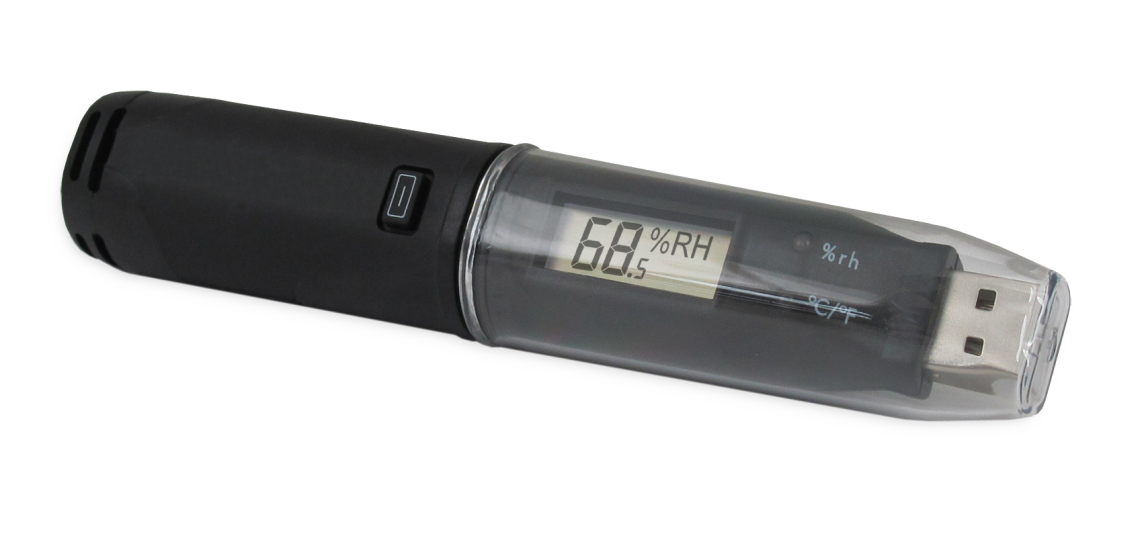 Temperature and Humidity USB Logger w Screen