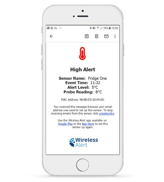 Step 3: Run the Wireless Alert app and follow the instructions to get started.